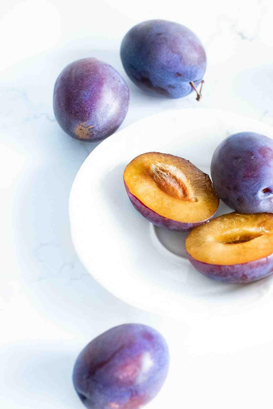 Comment congeler des prunes