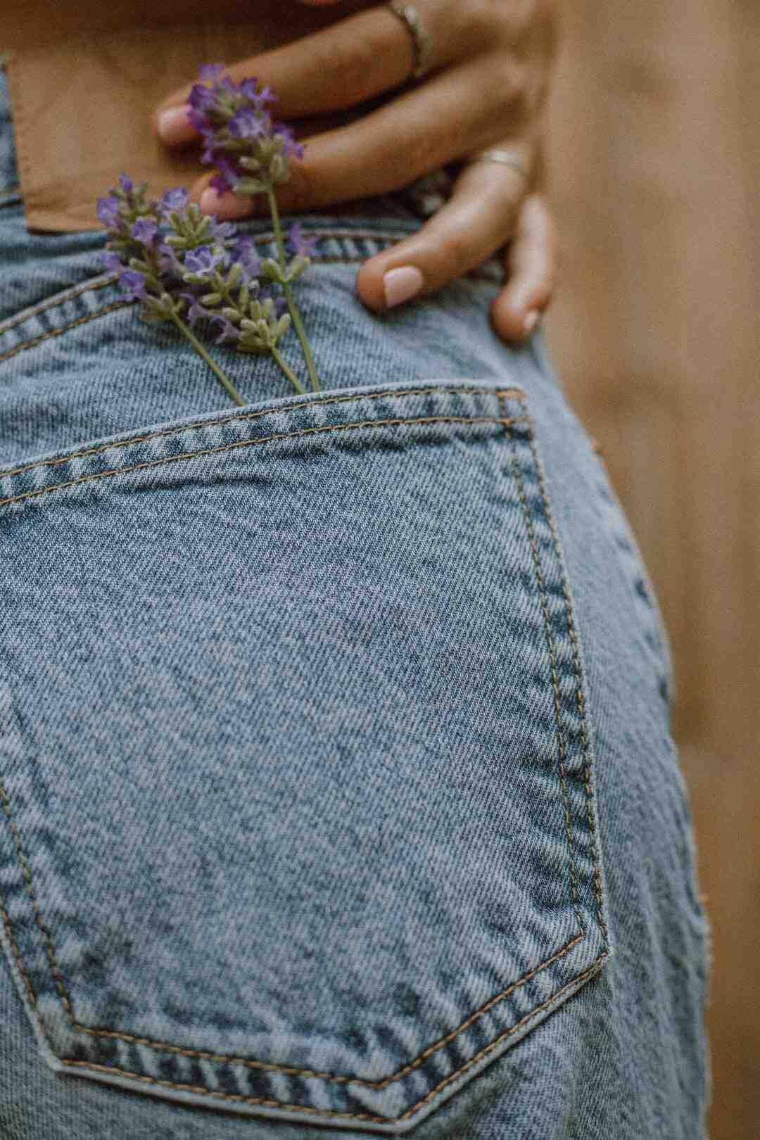 Comment décolorer un jean