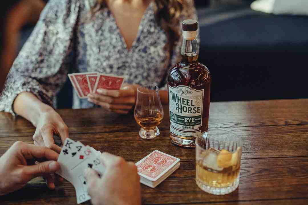 Jeux de cartes alcool