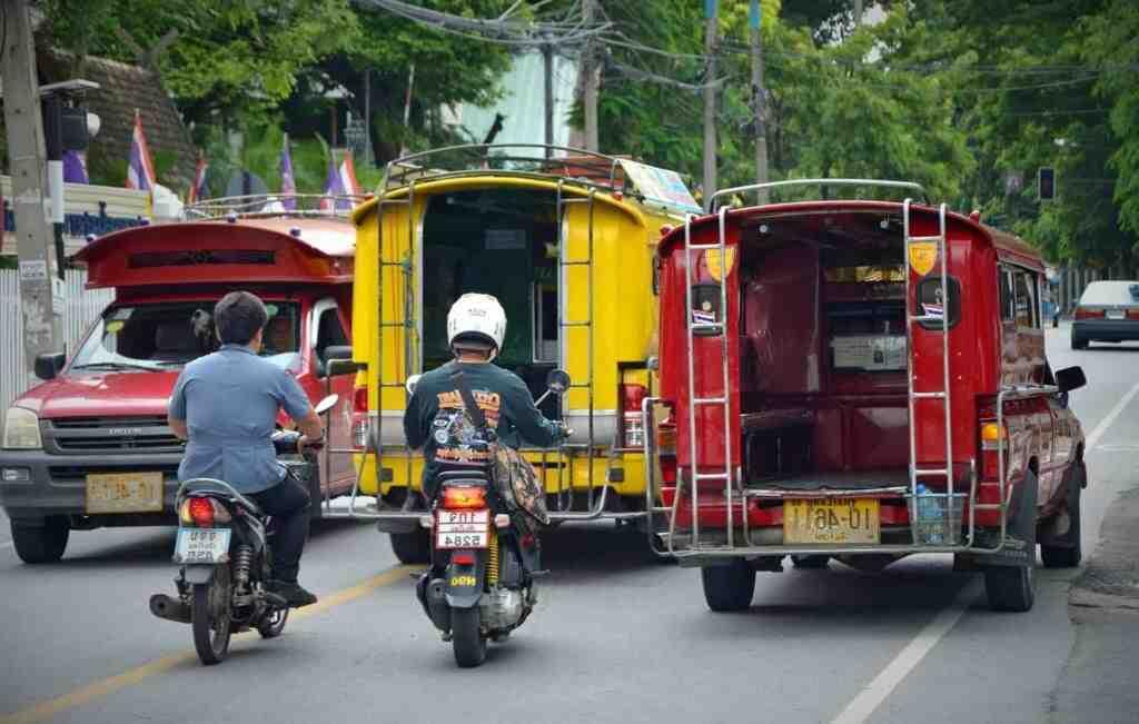 How can I get MRT in Bangkok?